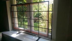 Glasatelier Vetro Colorato, Neerbeek, glas in lood raam, voorzetraam, reparatie