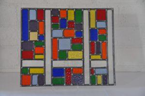 Glas in lood werk, vetro colorato, neerbeek, limburg, vakantie, workshops, cursus