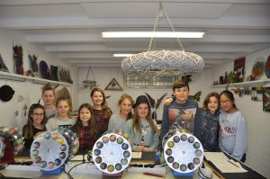 uniek kinderfeestje, workshop glasbewerken, vetro colorato, neerbeek, glasatelier