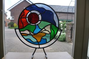 cursus glas in lood, vetro colorato glasatelier, neerbeek, zuid limburg
