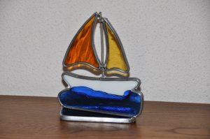 glas in randlood, glasatelier Vetro Colorato, Neerbeek