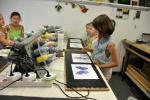 groepje aan het werk, Uniek kinderfeestje, Glasatelier Vetro Colorato.jpg