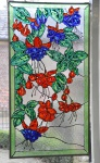 fuchsia's, verven met kous vloeibaar glas, Glasatelier Vetro Colorato.jpg
