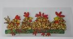 kippen, verven met koud vloeibaar glas, Glasatelier Vetro Colorato.jpg