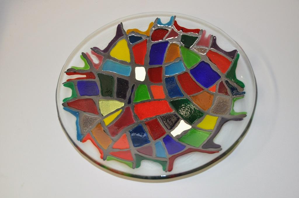 Favoriete Workshop verven met koud vloeibaar glas. Eenvoudig.. Vetro Colorato JC82